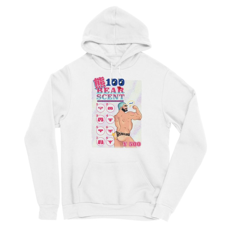 100 Bear Scent Men's Pullover Hoody by Hoarse's Artist Shop
