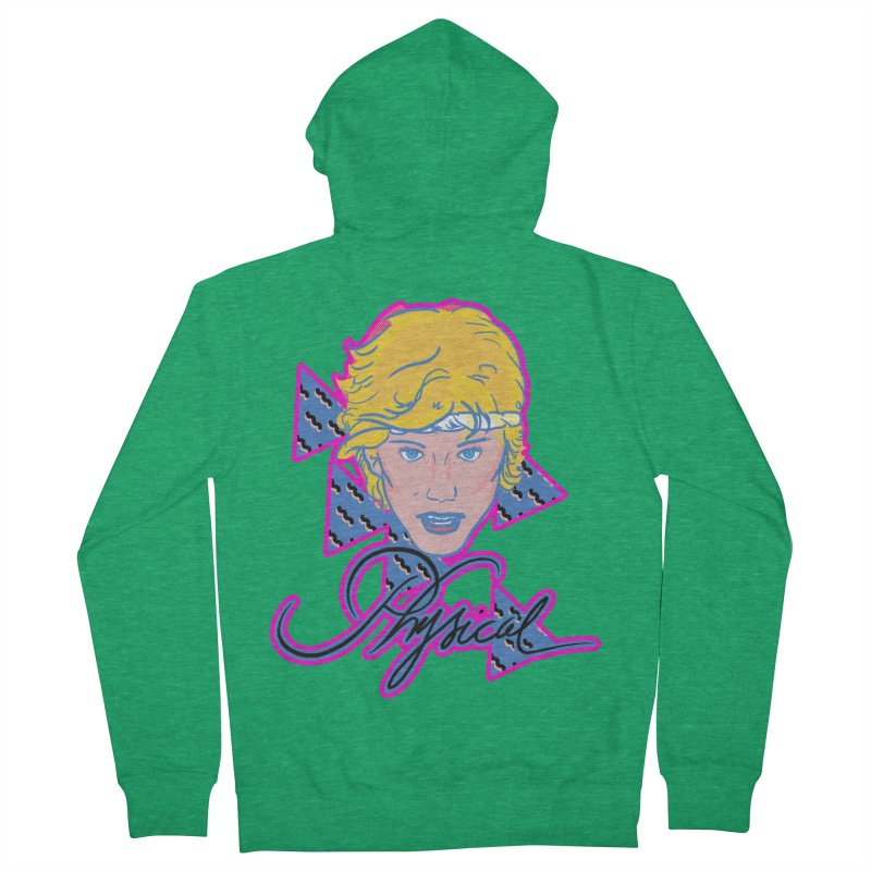 Let's get physical Women's Zip-Up Hoody by Hoarse's Artist Shop