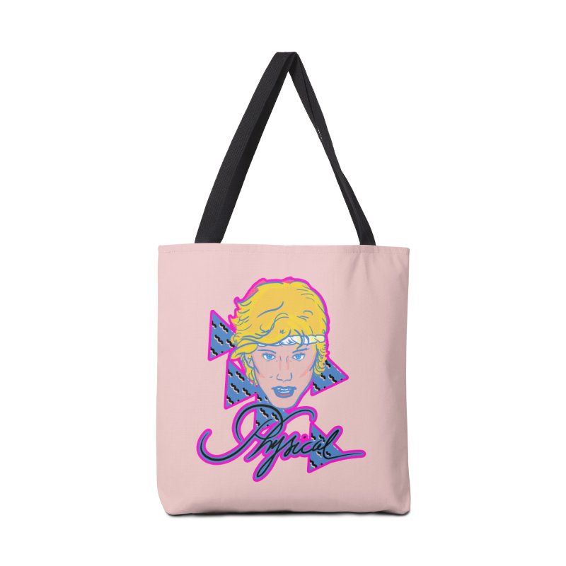 Let's get physical Accessories Bag by Hoarse's Artist Shop
