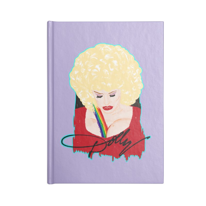 Dolly Accessories Notebook by Hoarse's Artist Shop