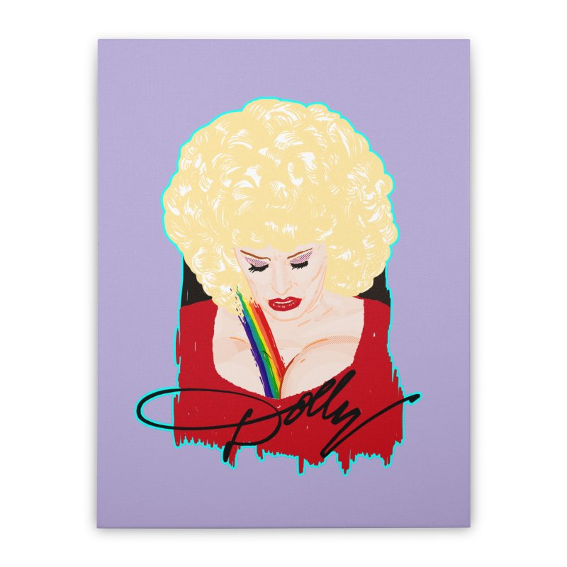 Dolly Home Stretched Canvas by Hoarse's Artist Shop