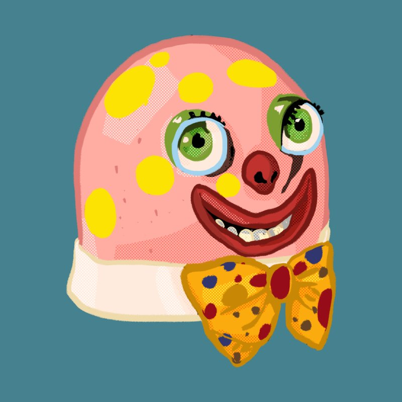 Mr. Blobby by Hoarse's Artist Shop