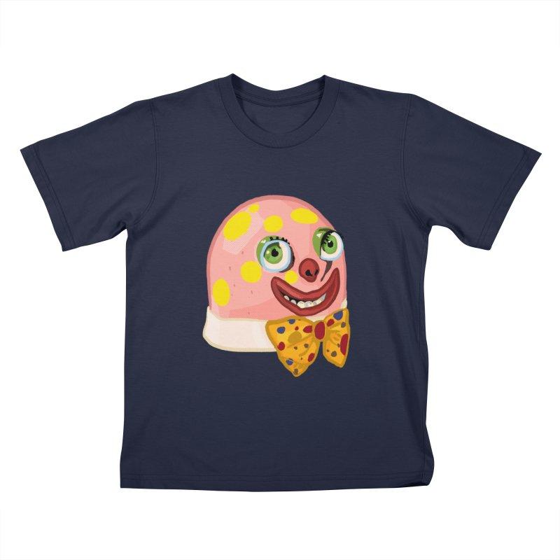 Mr. Blobby Kids T-Shirt by Hoarse's Artist Shop