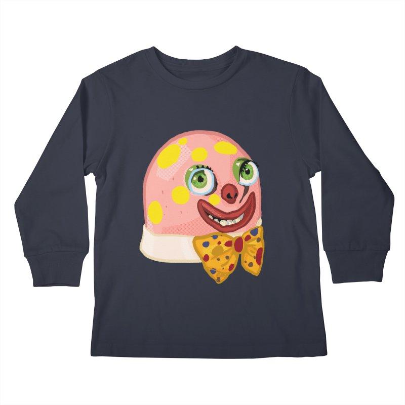 Mr. Blobby Kids Longsleeve T-Shirt by Hoarse's Artist Shop