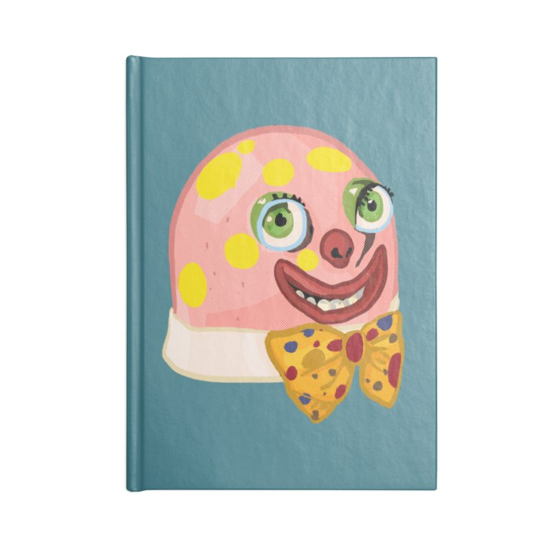 Mr. Blobby Accessories Notebook by Hoarse's Artist Shop