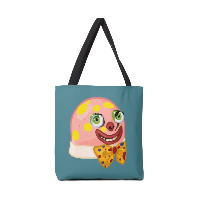 Mr. Blobby Accessories Bag by Hoarse's Artist Shop