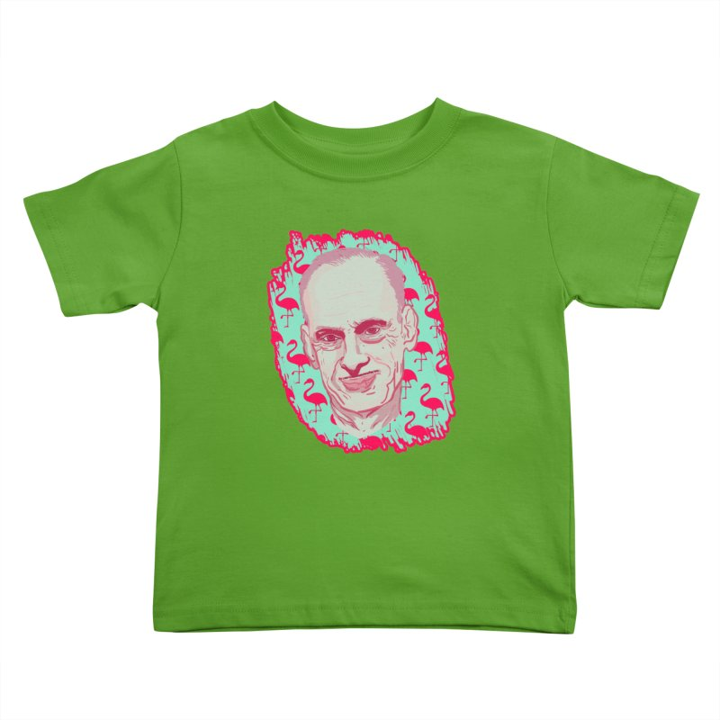 John Waters Kids Toddler T-Shirt by Hoarse's Artist Shop