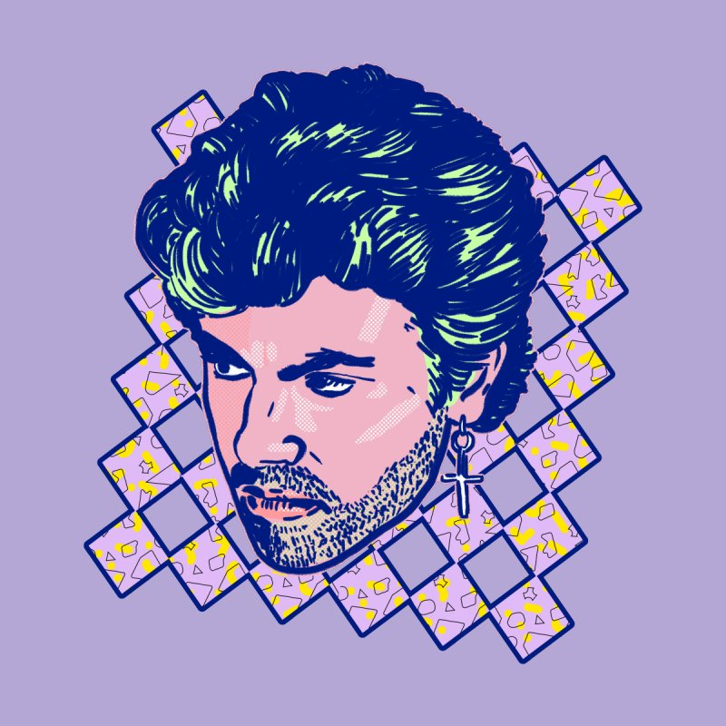 George Michael by Hoarse's Artist Shop
