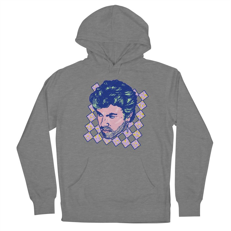 George Michael Women's Pullover Hoody by Hoarse's Artist Shop