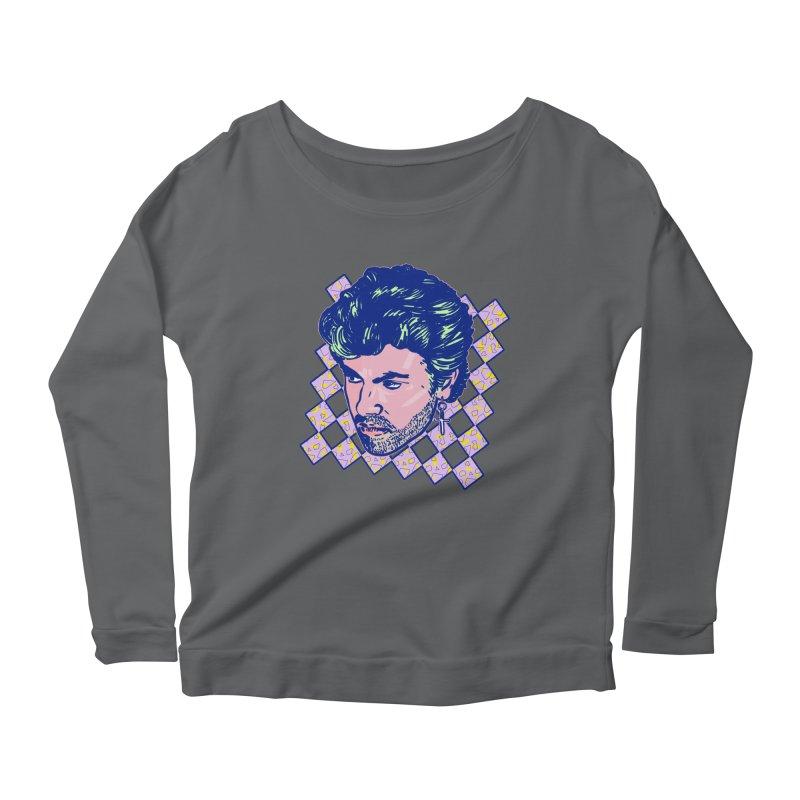 George Michael Women's Longsleeve T-Shirt by Hoarse's Artist Shop