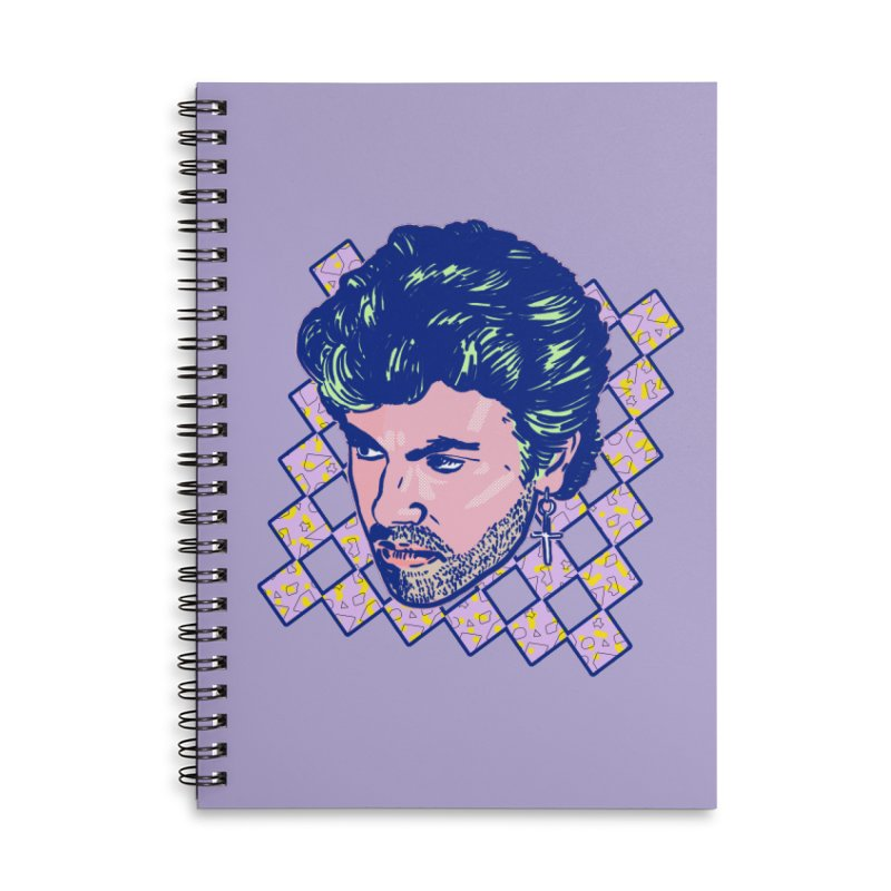 George Michael Accessories Notebook by Hoarse's Artist Shop