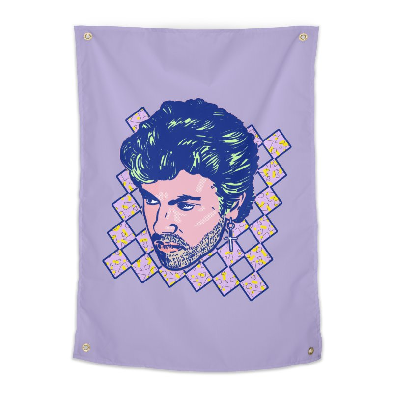 George Michael Home Tapestry by Hoarse's Artist Shop