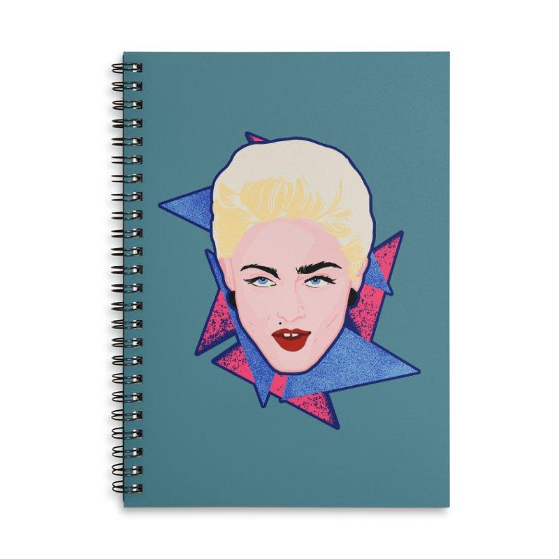Madonna Accessories Notebook by Hoarse's Artist Shop