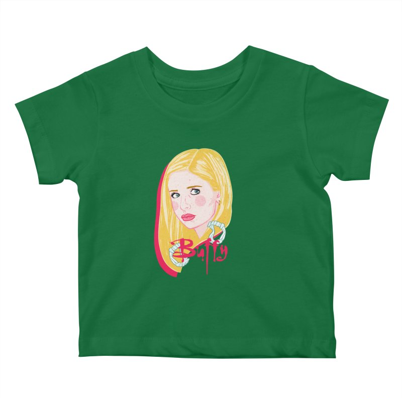 Buffy Kids Baby T-Shirt by Hoarse's Artist Shop