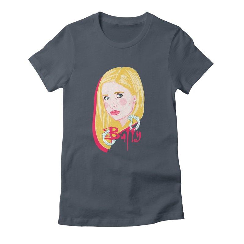 Buffy Women's T-Shirt by Hoarse's Artist Shop