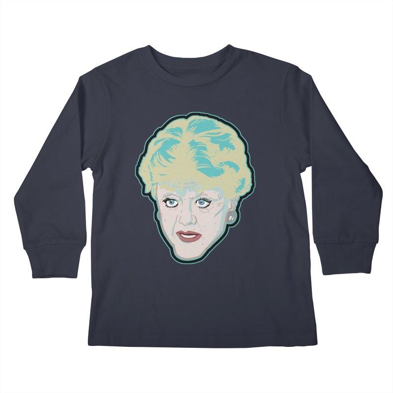 Murder, She Wrote Kids Longsleeve T-Shirt by Hoarse's Artist Shop