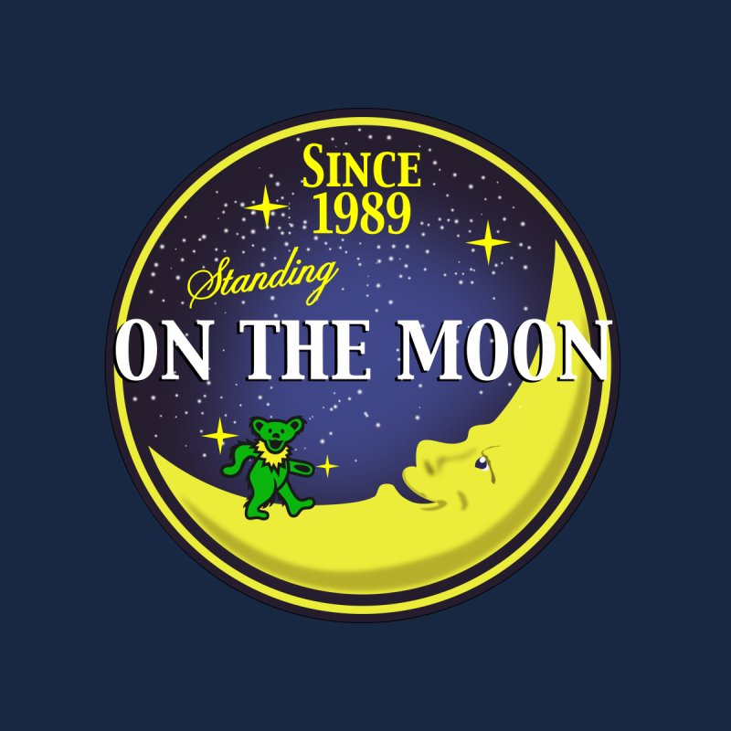 Standing On The Moon Pie Men's T-Shirt by Troffman's Artist Shop