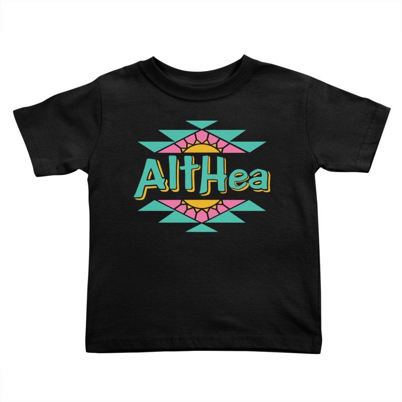 Althea-Zona Kids Toddler T-Shirt by Troffman's Artist Shop
