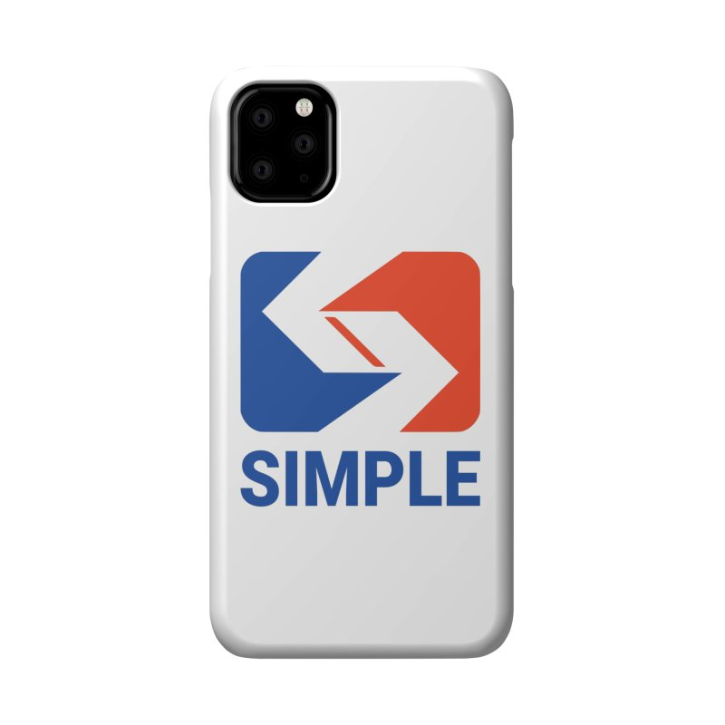 Keep It Simple Accessories Phone Case by Troffman's Artist Shop