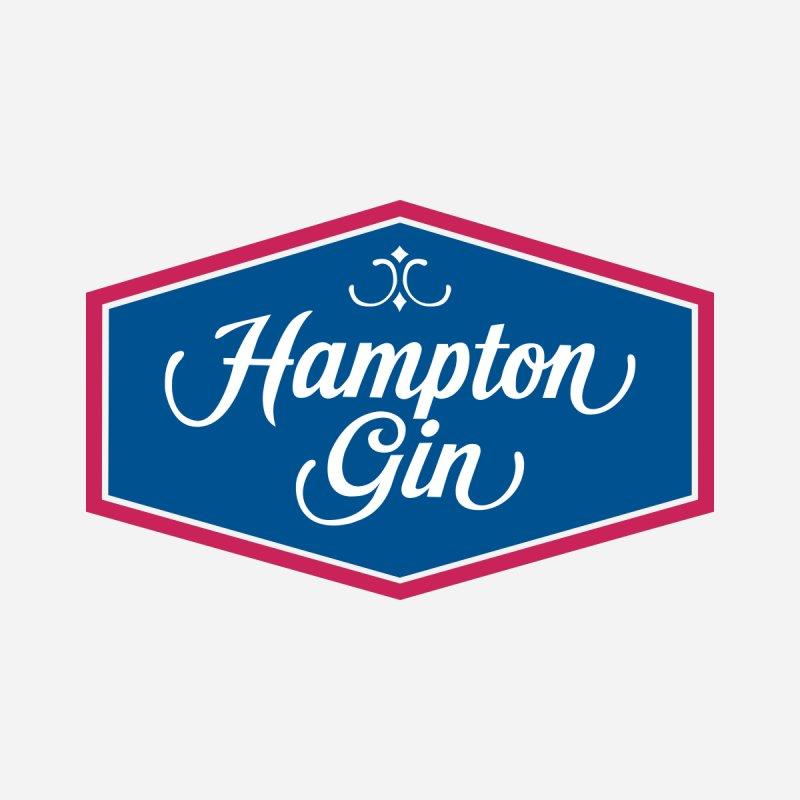 Hampton Gin Women's Scoop Neck by Troffman's Artist Shop