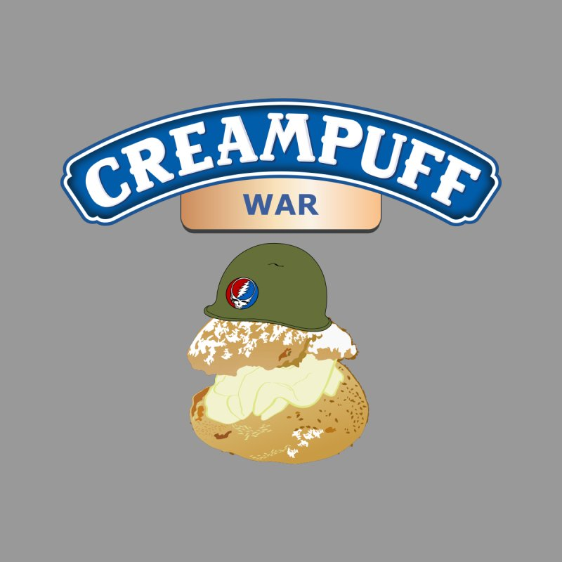 Cream Puff War Men's Sweatshirt by Troffman's Artist Shop