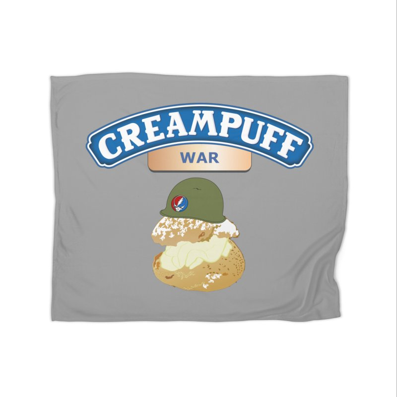 Cream Puff War Home Blanket by Troffman's Artist Shop