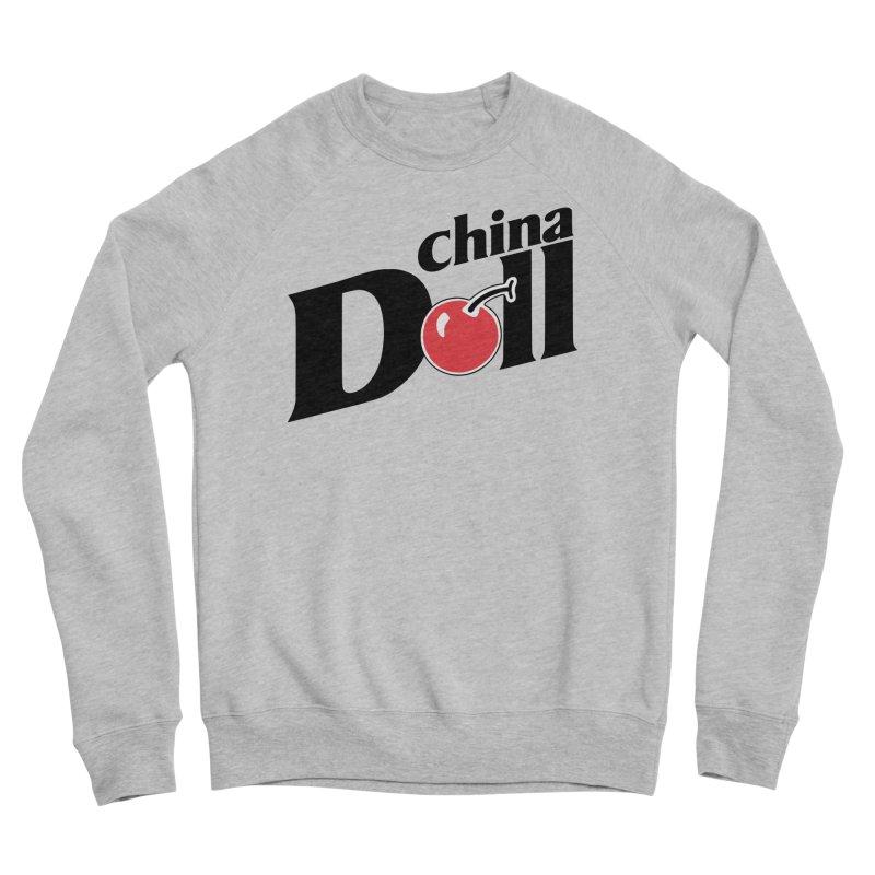 Cherry China Doll Men's Sweatshirt by Troffman's Artist Shop