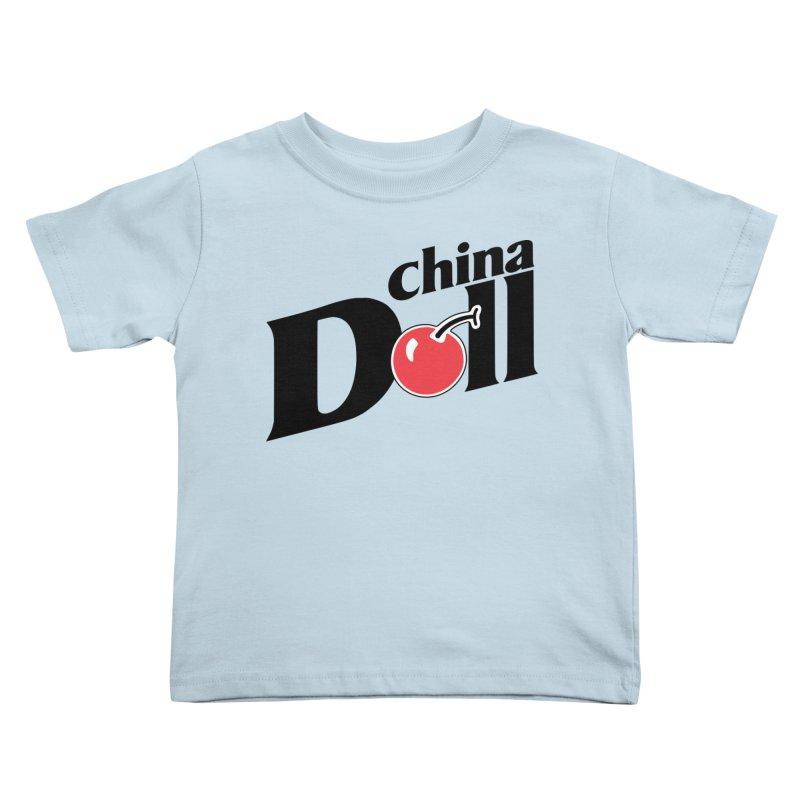 Cherry China Doll Kids Toddler T-Shirt by Troffman's Artist Shop