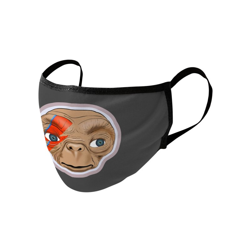 Space Invader Accessories Face Mask by Troffman's Artist Shop