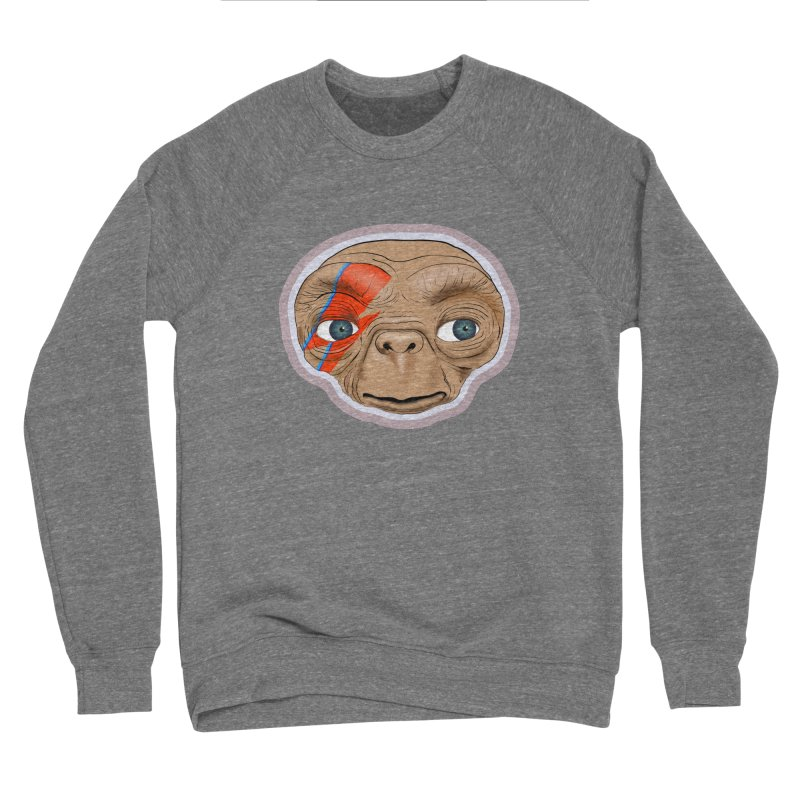 Space Invader Men's Sweatshirt by Troffman's Artist Shop