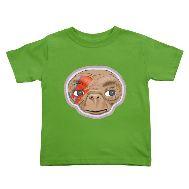 Space Invader Kids Toddler T-Shirt by Troffman's Artist Shop