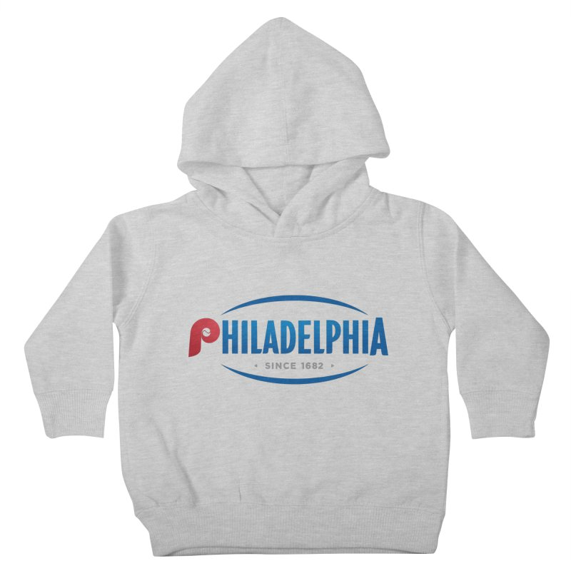 Philly Pride Kids Toddler Pullover Hoody by Troffman's Artist Shop