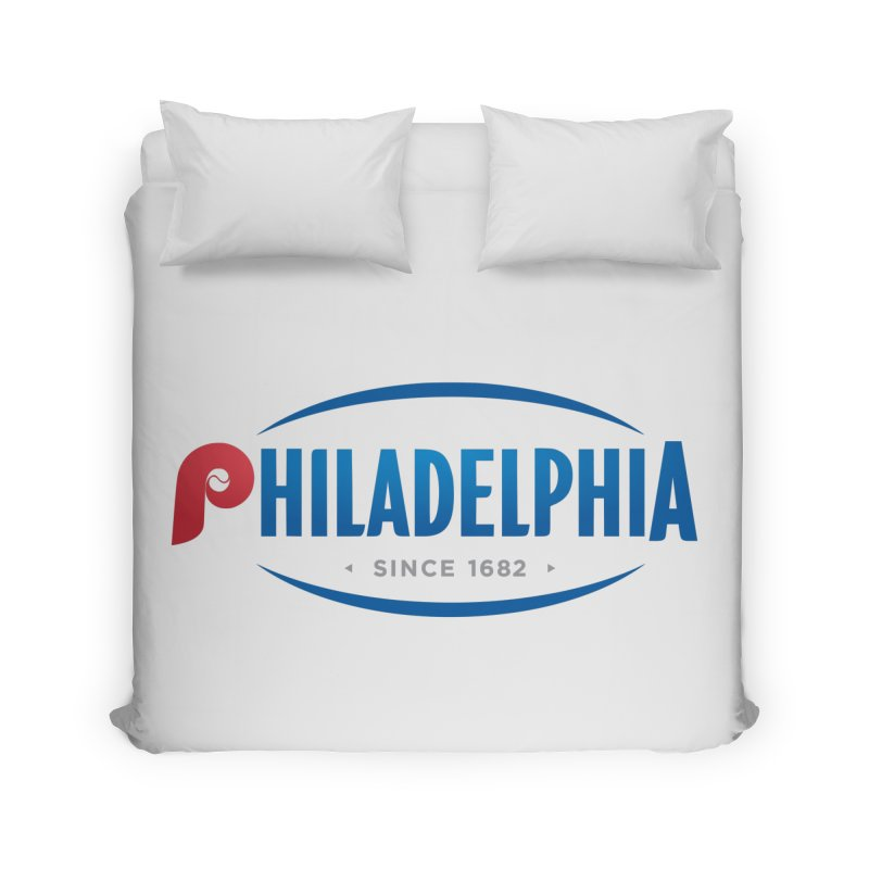 Philly Pride Home Duvet by Troffman's Artist Shop