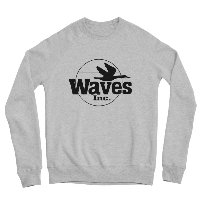 Waves Men's Sweatshirt by Troffman's Artist Shop