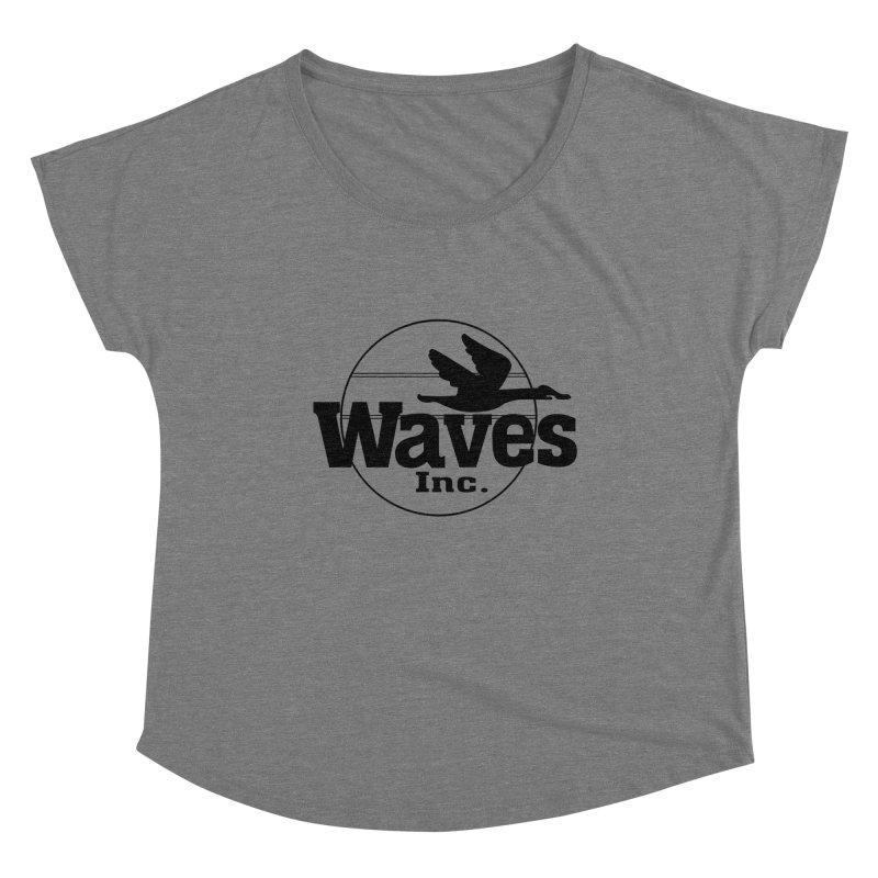 Waves Women's Scoop Neck by Troffman's Artist Shop