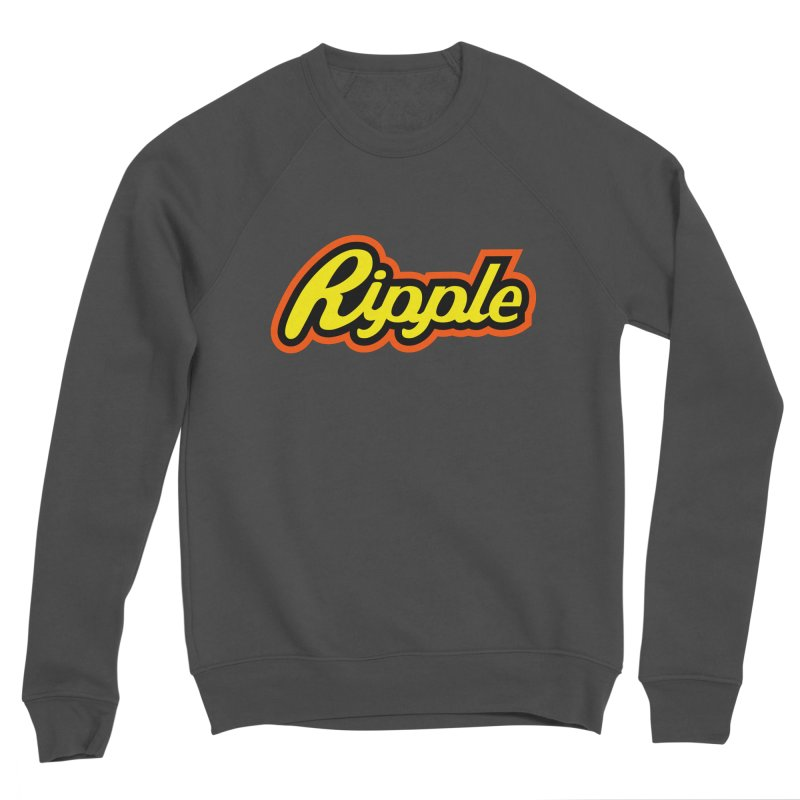 Ripple Men's Sweatshirt by Troffman's Artist Shop