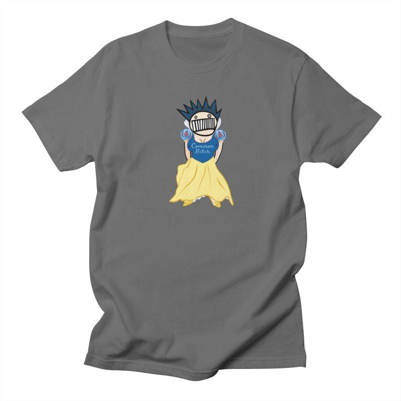 Common Snow White Boognish Bitch Men's T-Shirt by Troffman's Artist Shop