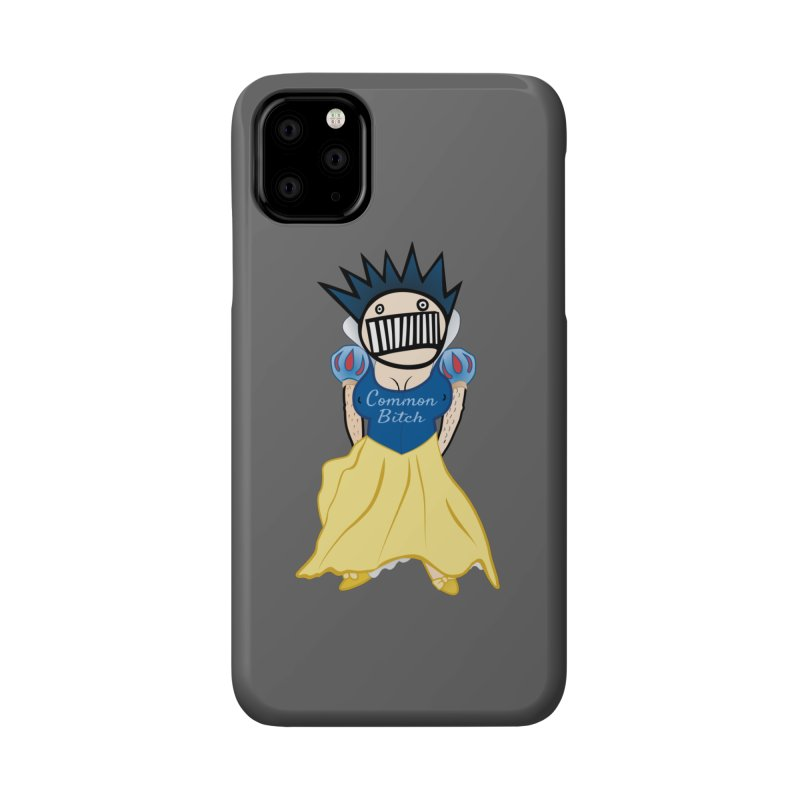 Common Snow White Boognish Bitch Accessories Phone Case by Troffman's Artist Shop