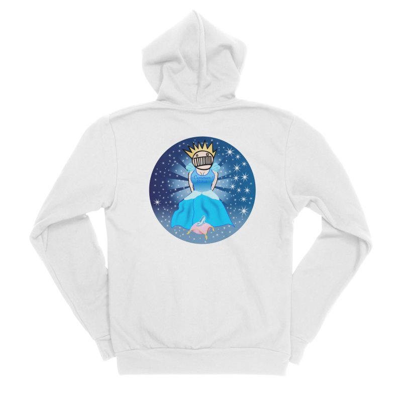 Common Cinderella Boognish Bitch Men's Zip-Up Hoody by Troffman's Artist Shop