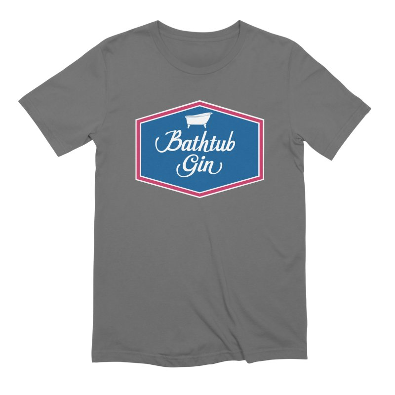 Bathtub Gin Men's T-Shirt by Troffman's Artist Shop