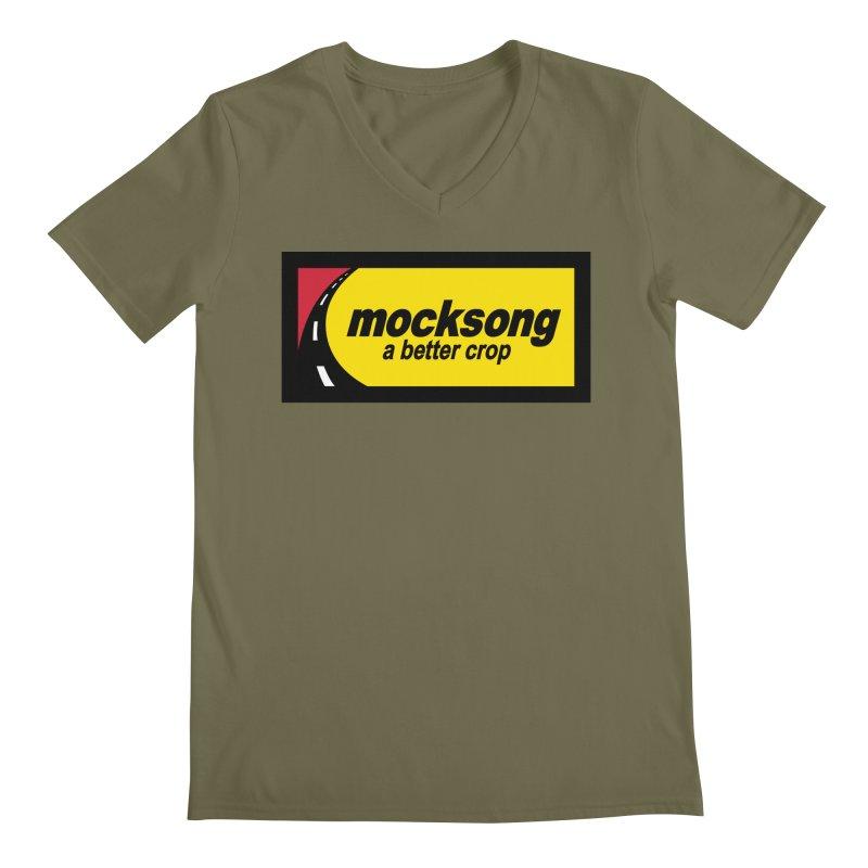 Mock Song Men's V-Neck by Troffman's Artist Shop
