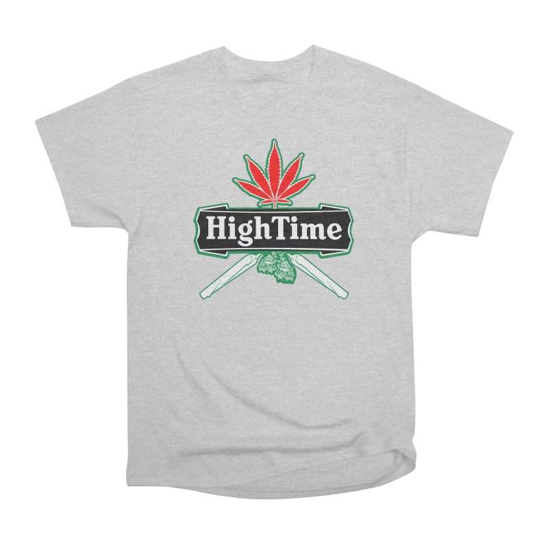 High Time Men's T-Shirt by Troffman's Artist Shop