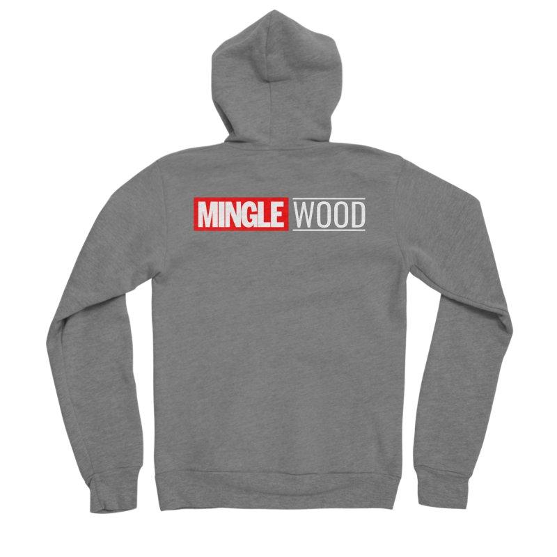 Minglewood Studios Men's Zip-Up Hoody by Troffman's Artist Shop