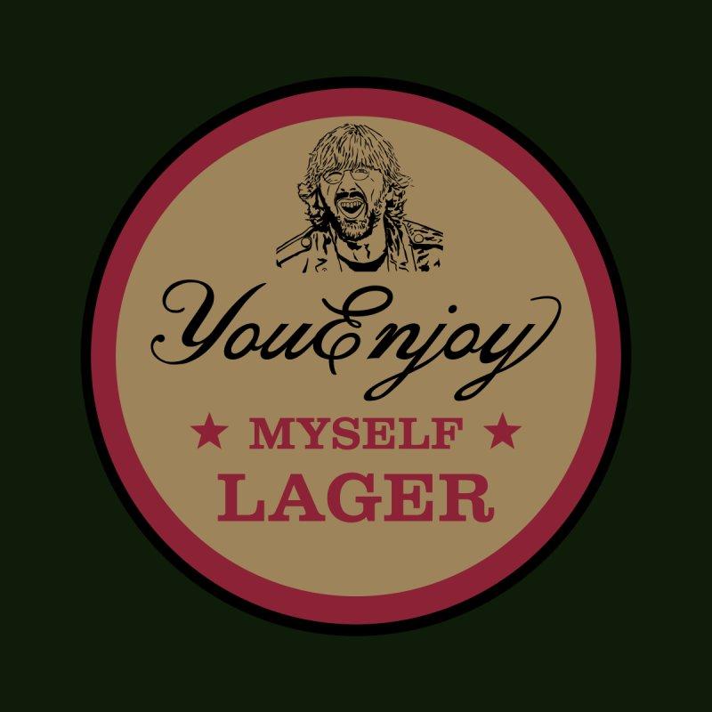 You Enjoy Myself Lager Men's T-Shirt by Troffman's Artist Shop
