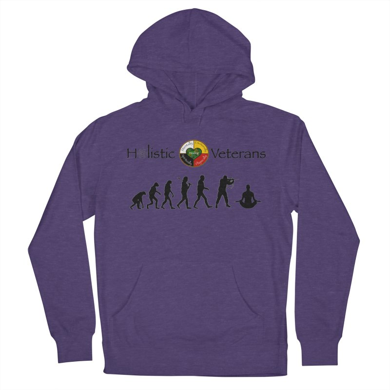 HV Logo Women's French Terry Pullover Hoody by HolisticVeterans Store
