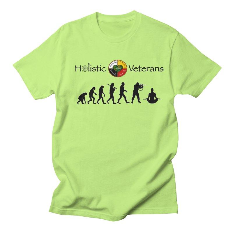 HV Logo Women's Regular Unisex T-Shirt by HolisticVeterans Store