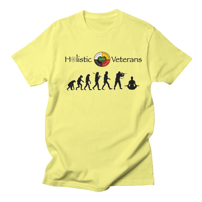 HV Logo Men's T-Shirt by HolisticVeterans Store