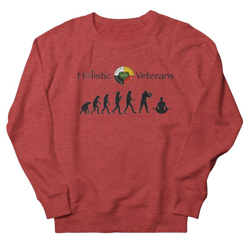 HV Logo Women's French Terry Sweatshirt by HolisticVeterans Store