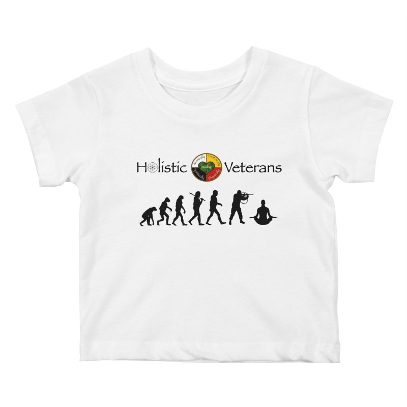 HV Logo Kids Baby T-Shirt by HolisticVeterans Store