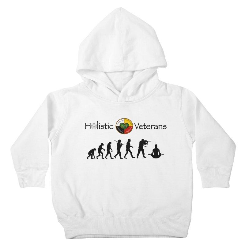 HV Logo Kids Toddler Pullover Hoody by HolisticVeterans Store